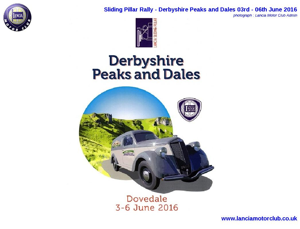 Sliding Pillar Rally - Derbyshire Peaks and Dales
