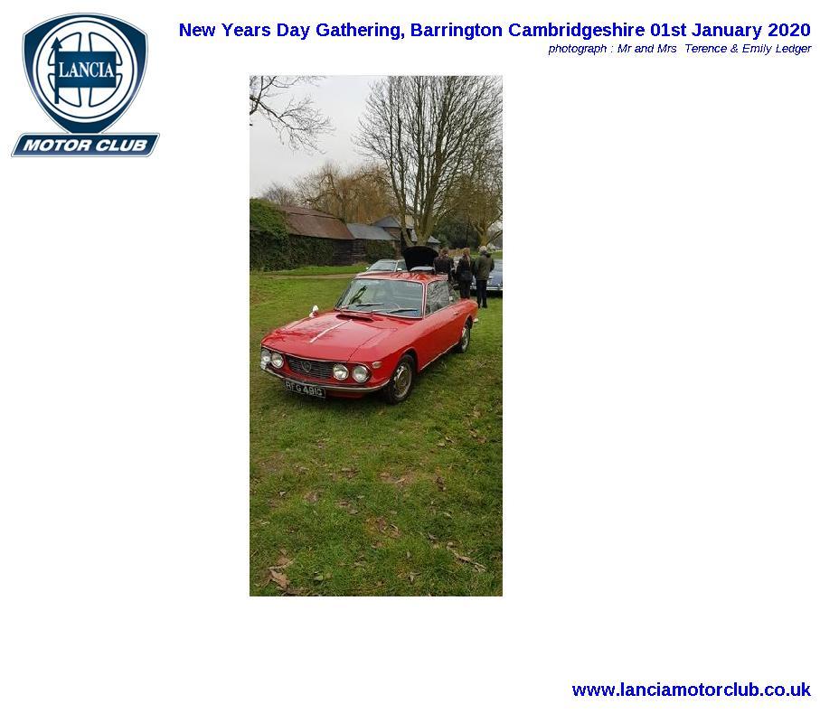 New Years Day Gathering, Barrington Cambridgeshire